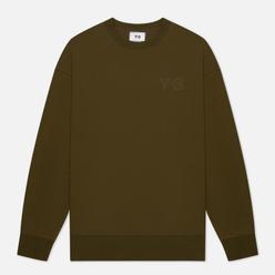 Мужская толстовка Y-3 Classic Chest Logo Y-3 Crew Neck Khaki