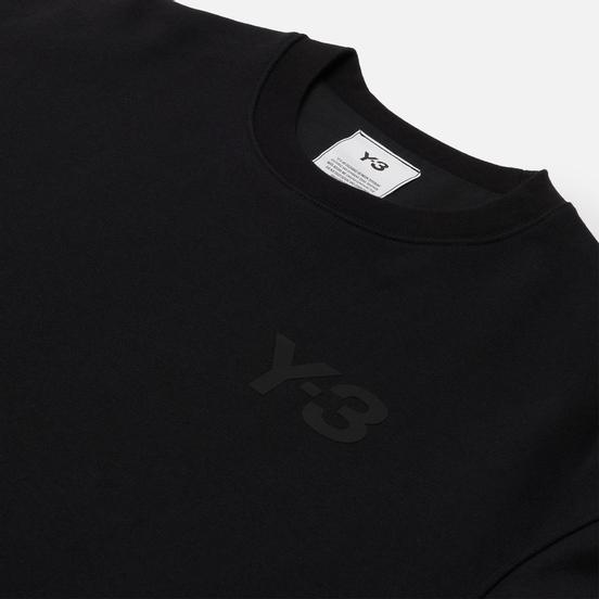 Мужская толстовка Y-3 Classic Chest Logo Y-3 Crew Neck Black