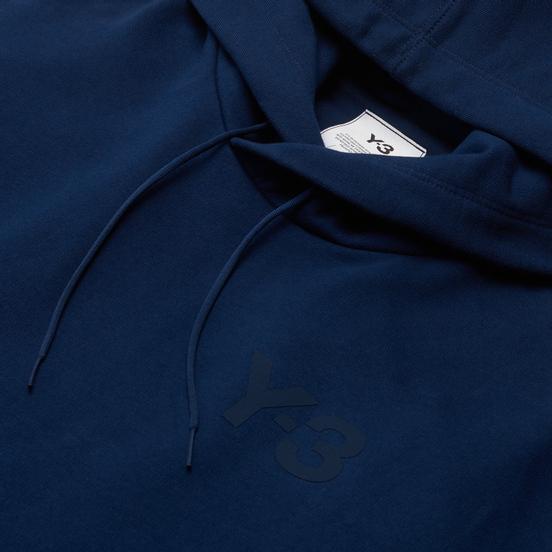 Мужская толстовка Y-3 Classic Chest Logo Hoodie Collegiate Navy