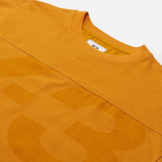 Мужская толстовка Y-3 Classic Heavy Pique Crew Neck Craft Gold