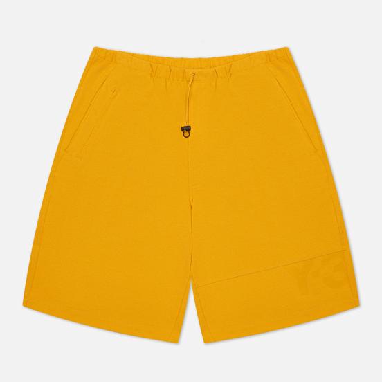 Мужские шорты Y-3 Classic Heavy Pique Craft Gold