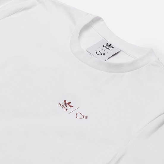 Мужская футболка adidas Originals x Human Made Graphic White