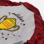 Мужская олимпийка adidas Originals x Human Made Track Top Firebird Collegiate Burgundy фото - 4
