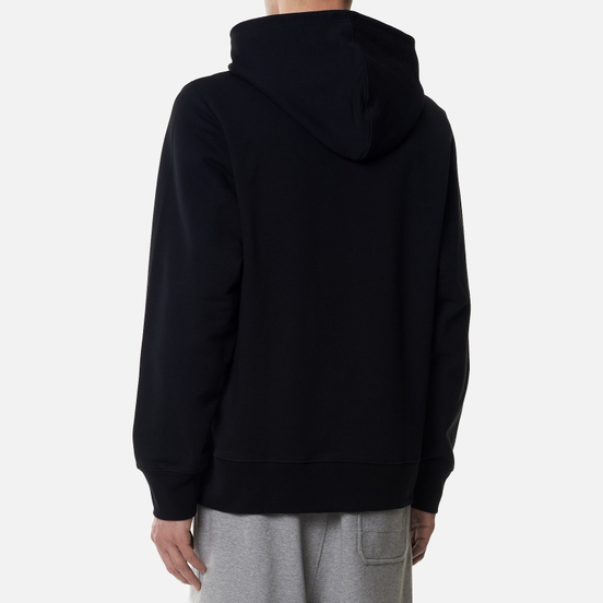 Мужская толстовка Y-3 Square Label Graphic Hoodie Black