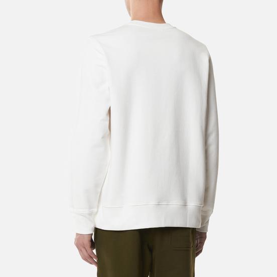 Мужская толстовка Y-3 Square Label Graphic Crew Neck Core White