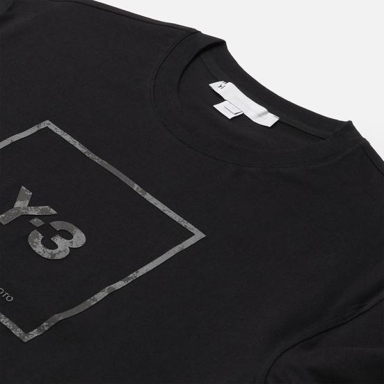 Мужская футболка Y-3 Square Label Graphic Black