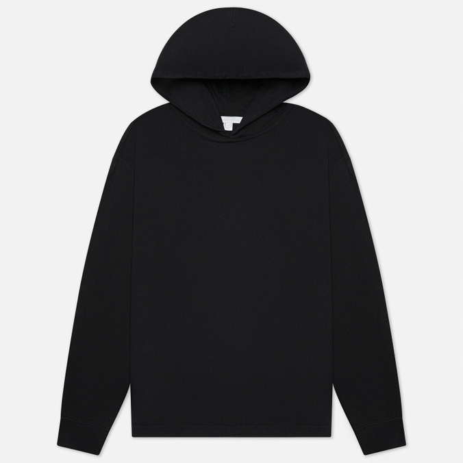Мужская толстовка Y-3 Chapter 3 Raw Terry Graphic Logo Hoodie drop shoulder raw hem rips crop hoodie