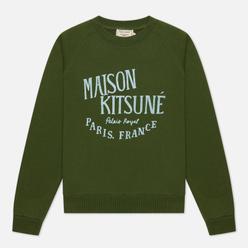 Женская толстовка Maison Kitsune Palais Royal Vintage Khaki