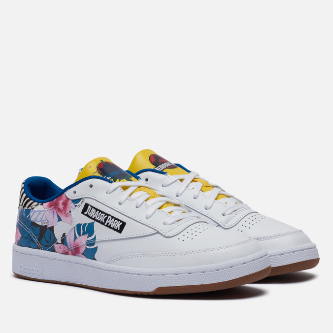 Кроссовки Reebok x Jurassic Park Club C 85 walking shoes reebok club c 85 bs6786 sneakers for female tmallfs