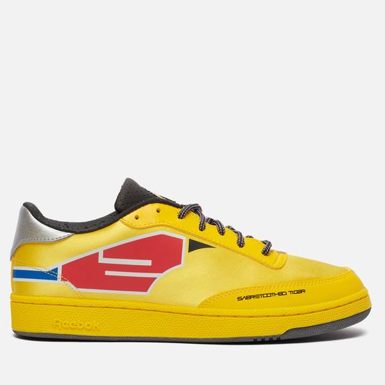 Мужские кроссовки Reebok x Power Rangers Club C Boldly Yellow/Coal/Silver Metallic