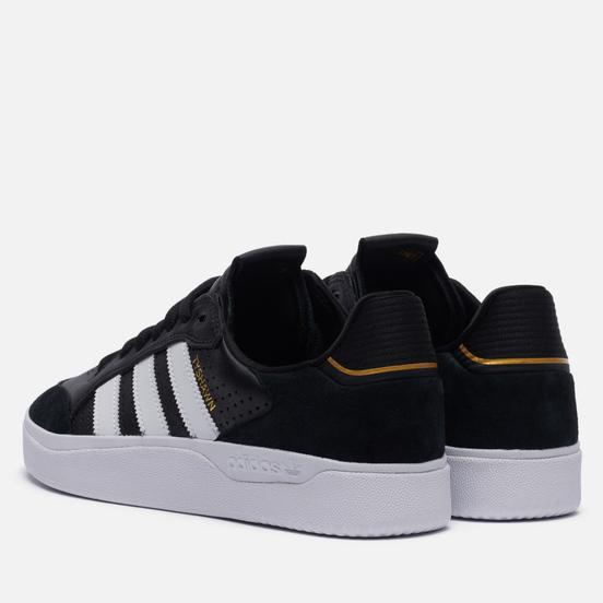 Мужские кроссовки adidas Skateboarding Tyshawn Low Core Black/Cloud White/Gold Metallic