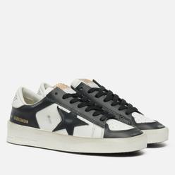 Женские кроссовки Golden Goose Stardan Leather/Leather Star White/Black