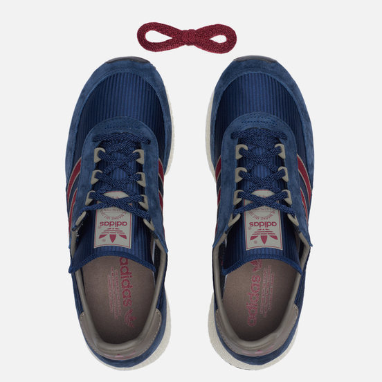 Мужские кроссовки adidas Originals Glenbuck Collegiate Navy/Collegiate Burgundy/Simple Brown