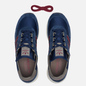 Мужские кроссовки adidas Originals Glenbuck Collegiate Navy/Collegiate Burgundy/Simple Brown фото - 1