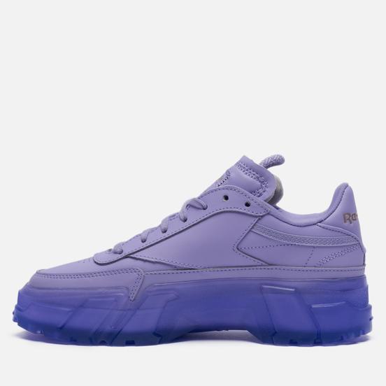 Женские кроссовки Reebok x Cardi B Club C Crisp Purple/Crisp Purple/Crisp Purple