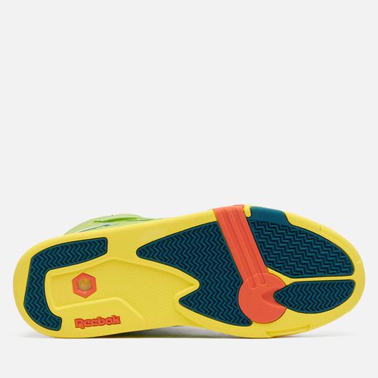 Мужские кроссовки Reebok x Jurassic Park Pump Omni Zone II Ultima Lime/Heritage Teal/Yellow