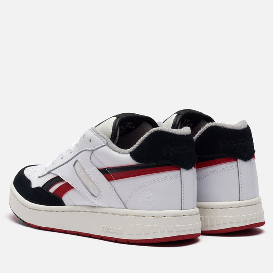 Мужские кроссовки Reebok BB 4000 White/Black/Flash Red