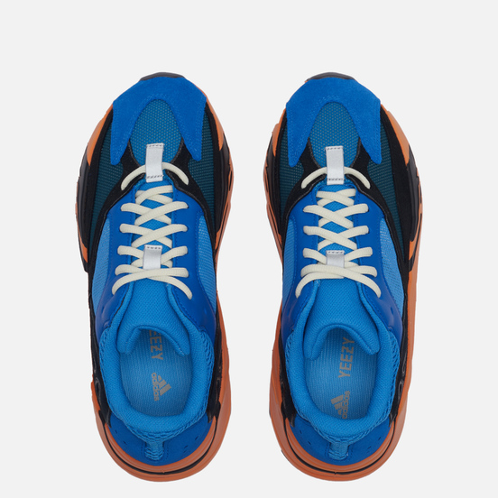 Кроссовки adidas Originals YEEZY Boost 700 Bright Blue/Bright Blue/Bright Blue