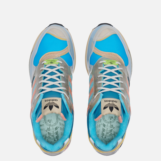 Кроссовки adidas Originals XZ 0006 Inside Out Bright Cyan/Chalk Coral/Stone Khaki