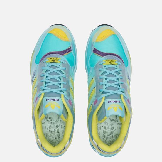 Кроссовки adidas Originals XZ 0006 Inside Out Clear Aqua/Light Aqua/Shock Yellow