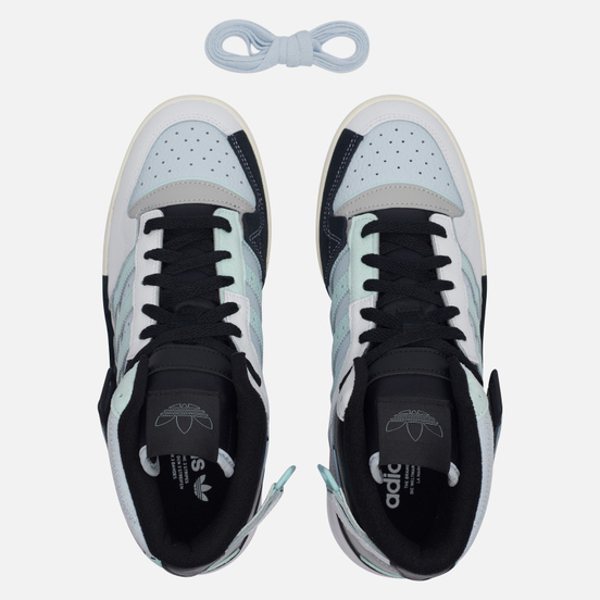 Мужские кроссовки adidas Originals Forum Exhibit Mid White/Grey Two/Halo Mint