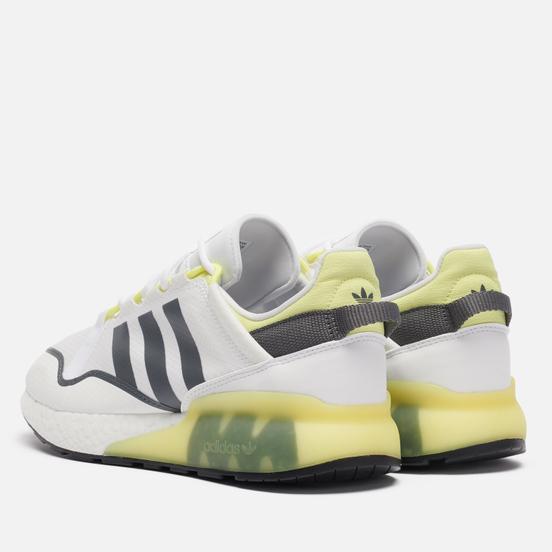 Кроссовки adidas Originals ZX 2K Boost Pure Cloud White/Grey Five/Pulse Yellow