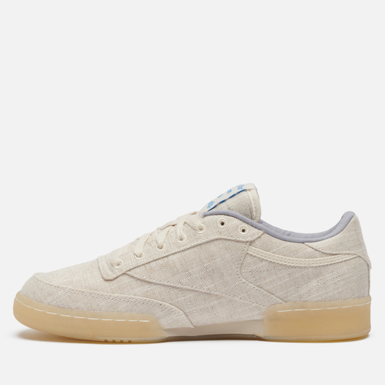 Кроссовки Reebok x Story MFG Club C 85 Non-Dyed/Non-Dyed/Washed Yellow