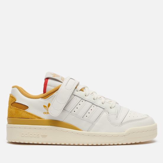 Мужские кроссовки adidas Originals Forum 84 Low Cream White/Victory Gold/Red