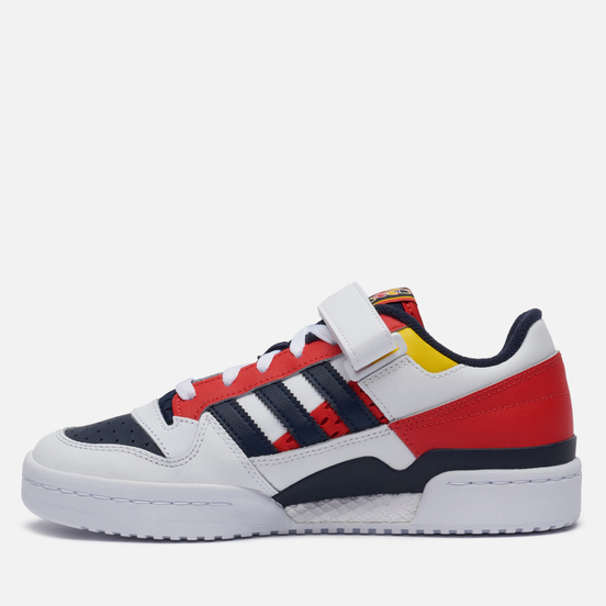 Кроссовки adidas Originals Forum Low White/Legend Ink/Red