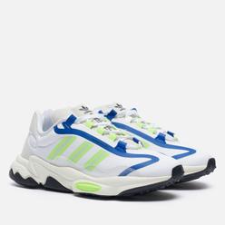 Кроссовки adidas Originals Ozweego Pure White/Signal Green/Off White