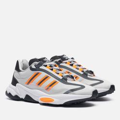 Кроссовки adidas Originals Ozweego Pure Grey One/Signal Orange/White