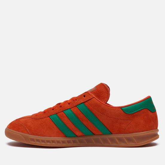 Кроссовки adidas Originals Hamburg Team Orange/Team Green/Gum
