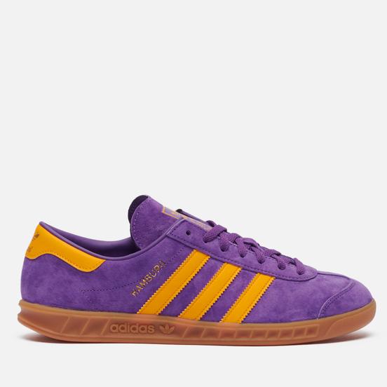 Кроссовки adidas Originals Hamburg Active Purple/Semi Solar Gold/Gum