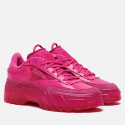 Женские кроссовки Reebok x Cardi B Club C Dynamic Pink/Dynamic Pink/Clear