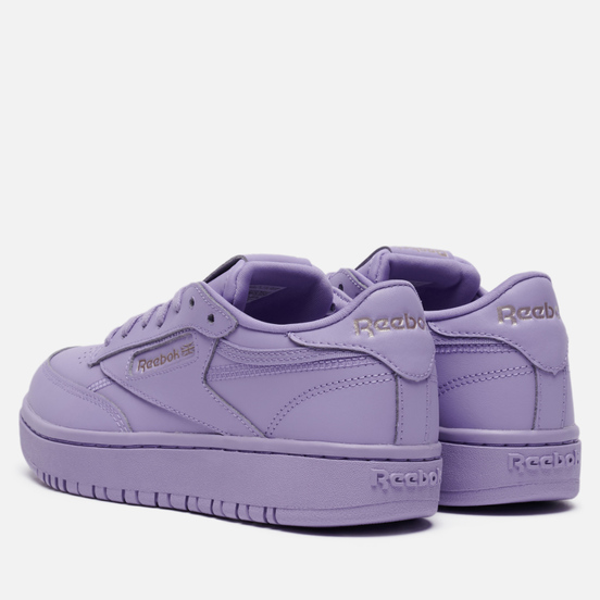 Женские кроссовки Reebok x Cardi B Club C Double Luminous Lilac/Luminous Lilac/Luminous Lilac