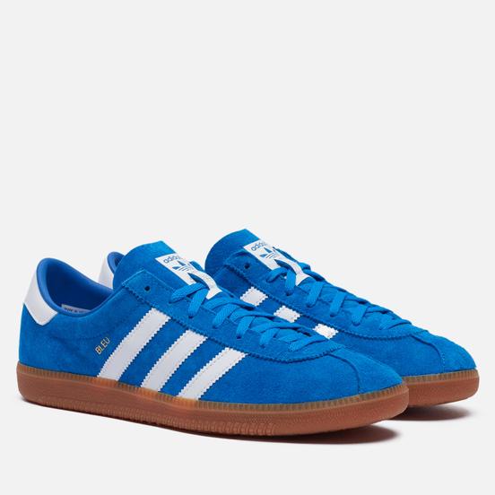 Мужские кроссовки adidas Originals Bleu Bright Blue/White/Gold Metallic