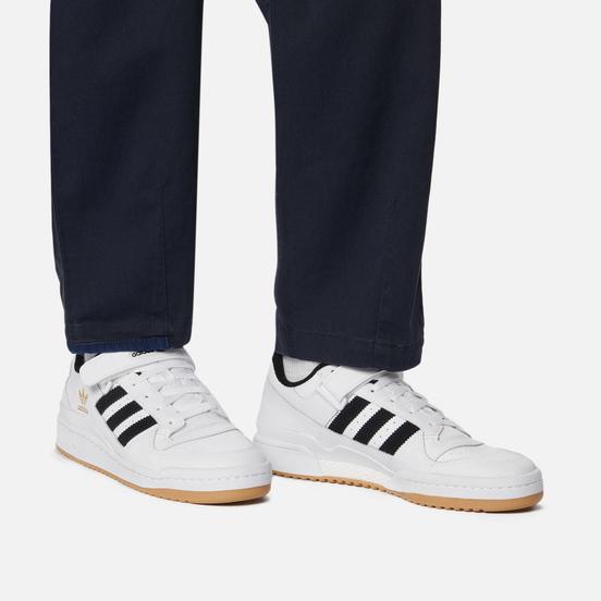 Кроссовки adidas Originals Forum Low Cloud White/Core Black/Gum