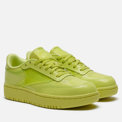 Женские кроссовки Reebok x Cardi B Club C Double High Vis Green/High Vis Green/High Vis Green