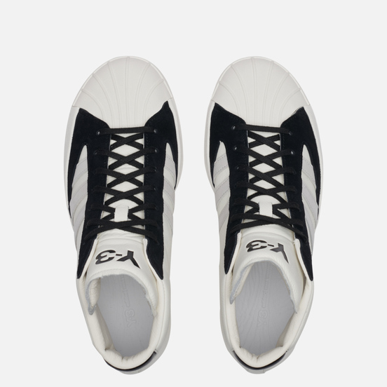 Кроссовки Y-3 Yohji Pro Cream White/Grey One/Black