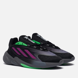 Кроссовки adidas Originals Ozelia Core Black/Screaming Green/Grey Four