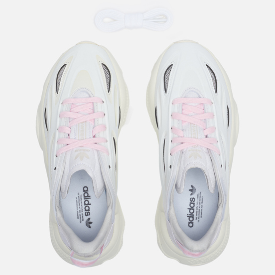 Женские кроссовки adidas Originals Ozweego Celox White/White/Clear Pink