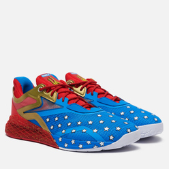 Кроссовки Reebok x Wonder Woman Nano X Horizon Blue/Primal Red/Gold Metallic