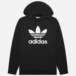 Мужская толстовка adidas Originals Adicolor Trefoil Hoodie Black/White