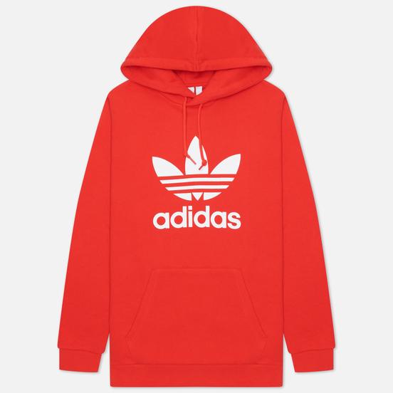 Мужская толстовка adidas Originals Adicolor Trefoil Hoodie Red/White