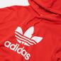 Мужская толстовка adidas Originals Adicolor Trefoil Hoodie Red/White фото - 1