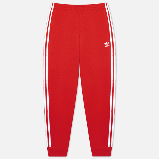 Мужские брюки adidas Originals Primeblue SST Red/White
