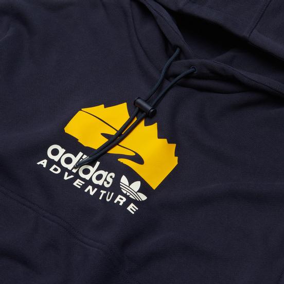 Мужская толстовка adidas Originals Adventure Logo Hoodie Legend Ink