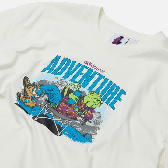 Мужская футболка adidas Originals Adventure Chameleon Cloud White