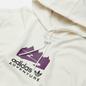 Мужская толстовка adidas Originals Adventure Logo Hoodie Cloud White фото - 1