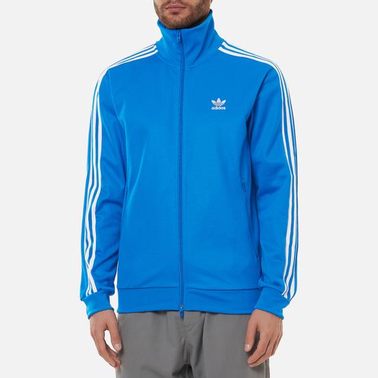 Мужская олимпийка adidas Originals Adicolor Classics Beckenbauer Primeblue Bluebird